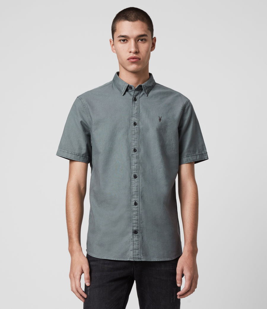 Men's Huntingdon Short Sleeve Shirt (light_blue) - Image 1