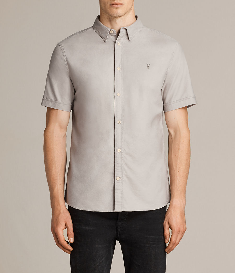 Uomo Camicia Hungtingdon (pebble) - Image 1