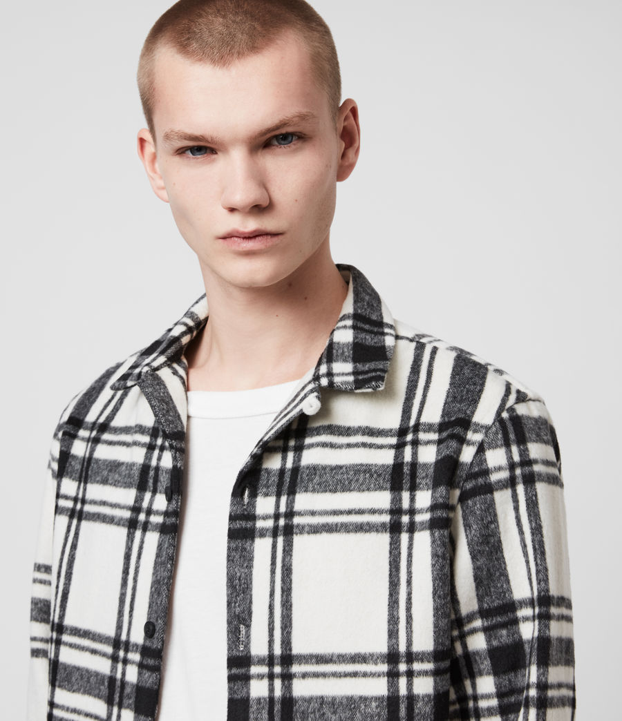 Mens Grayson Shirt (jet_black) - Image 2