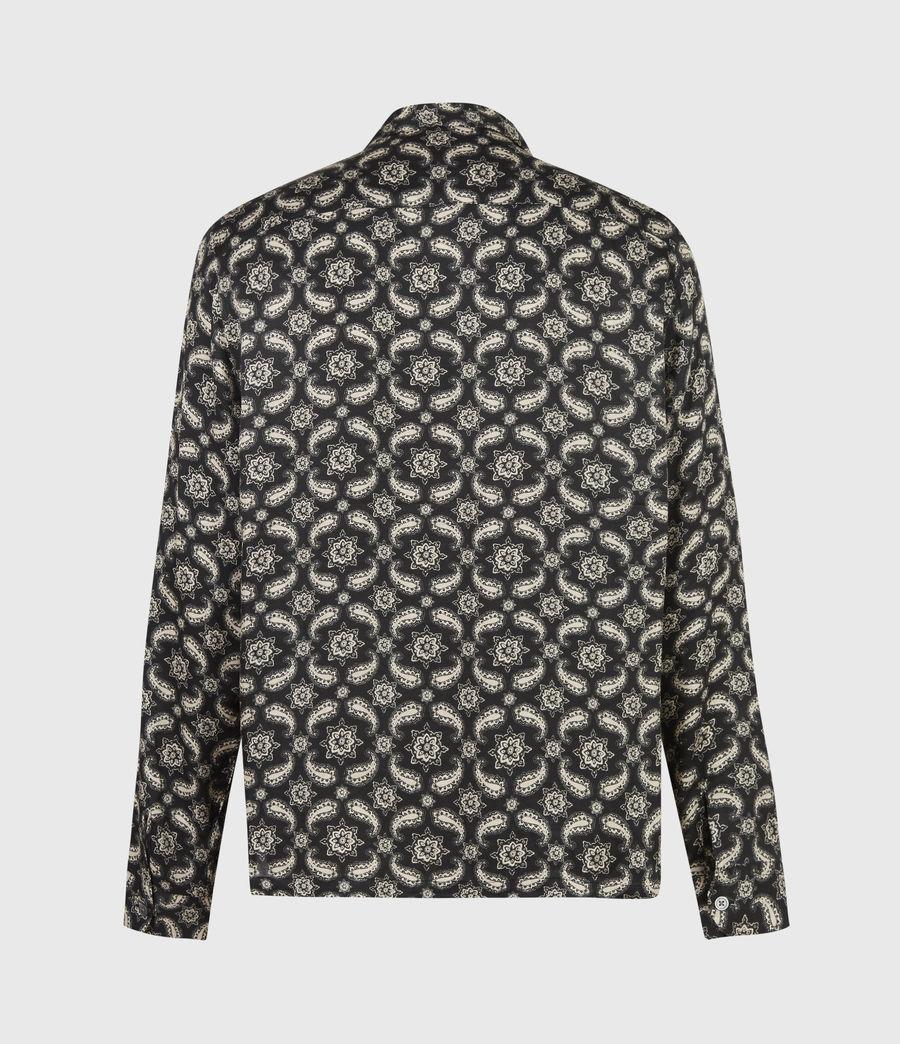 Mens Mitte Shirt (jet_black_ecru) - Image 3