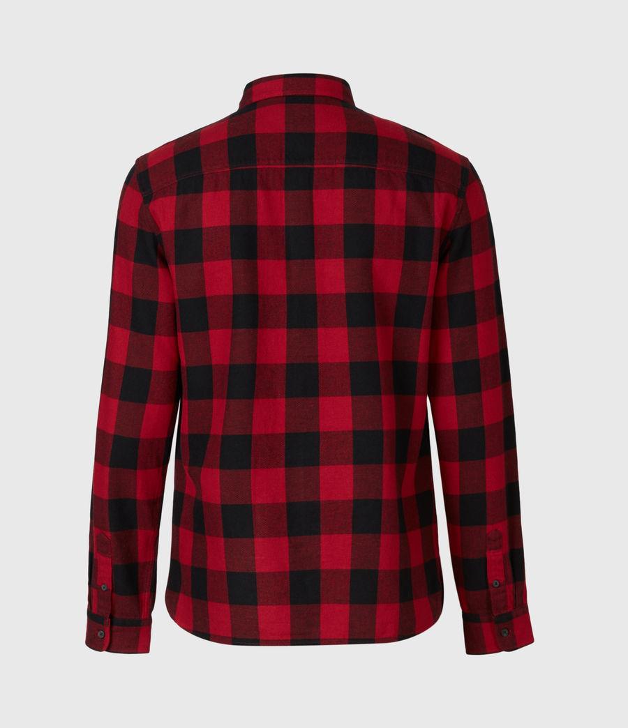 Men's Lumber Shirt (red_black) - Image 3