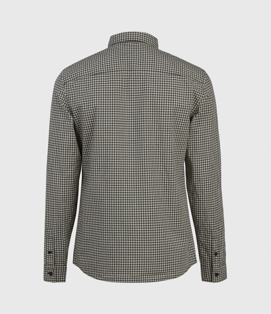 Herren Coleville Shirt (ecru_white_black) - Image 2