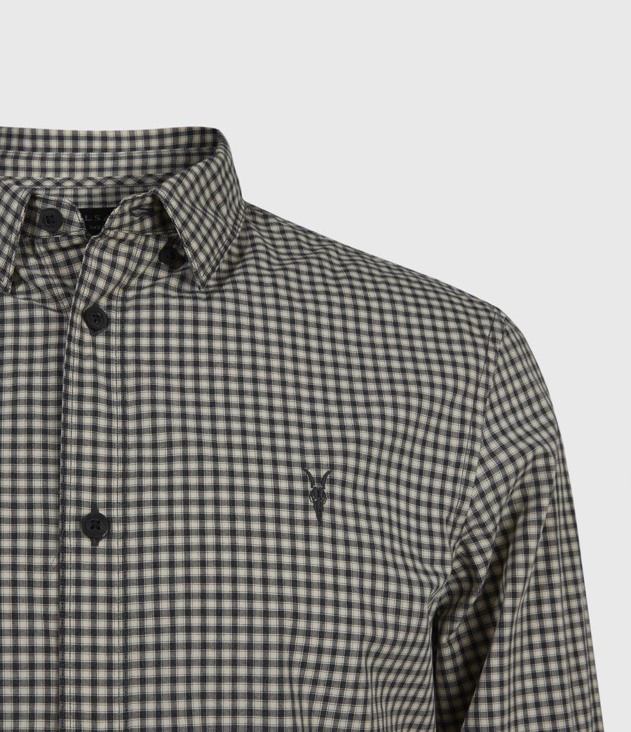 Herren Coleville Shirt (ecru_white_black) - Image 3