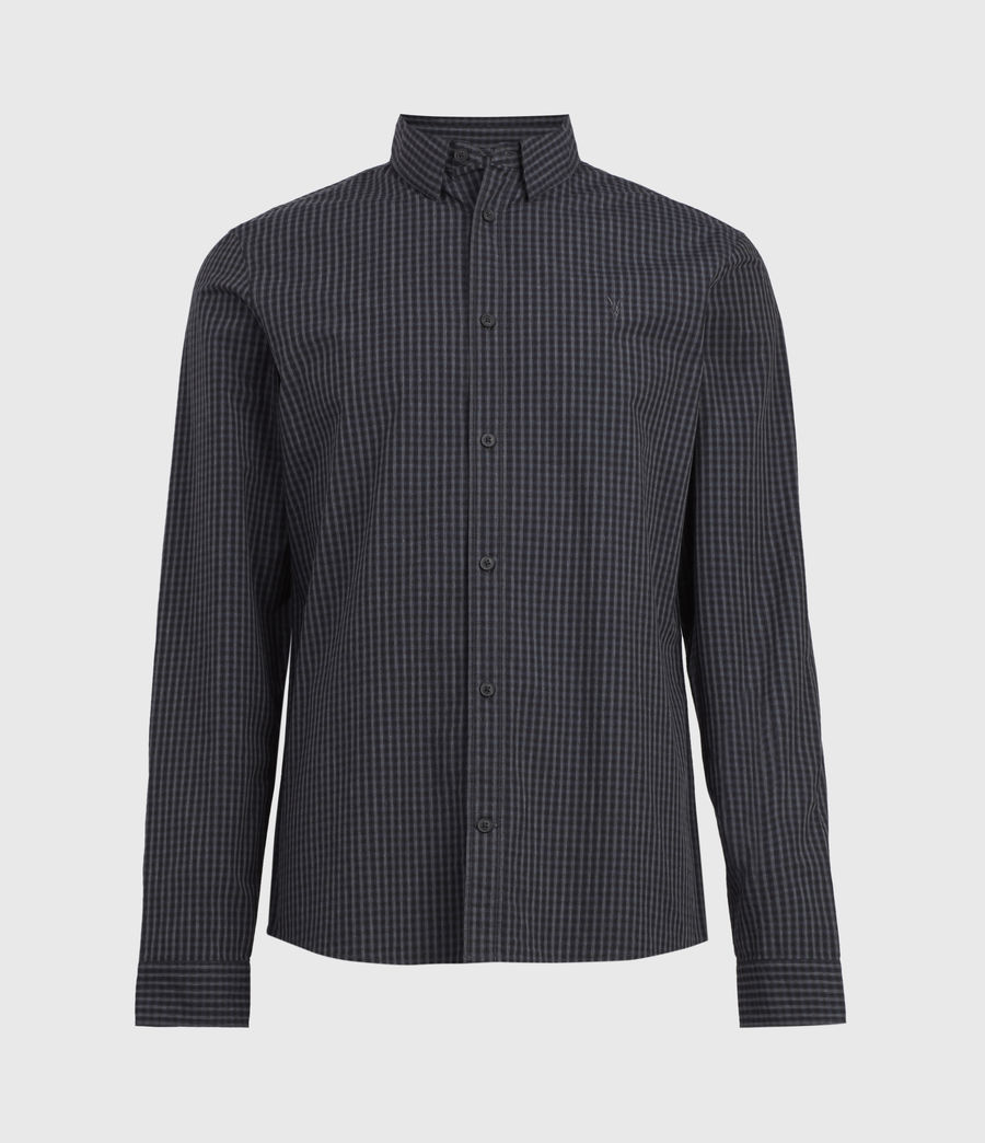 Herren Coleville Shirt (black_ink_navy) - Image 3