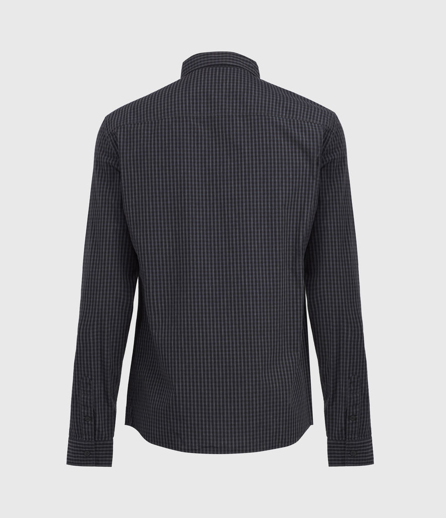 Herren Coleville Shirt (black_ink_navy) - Image 4