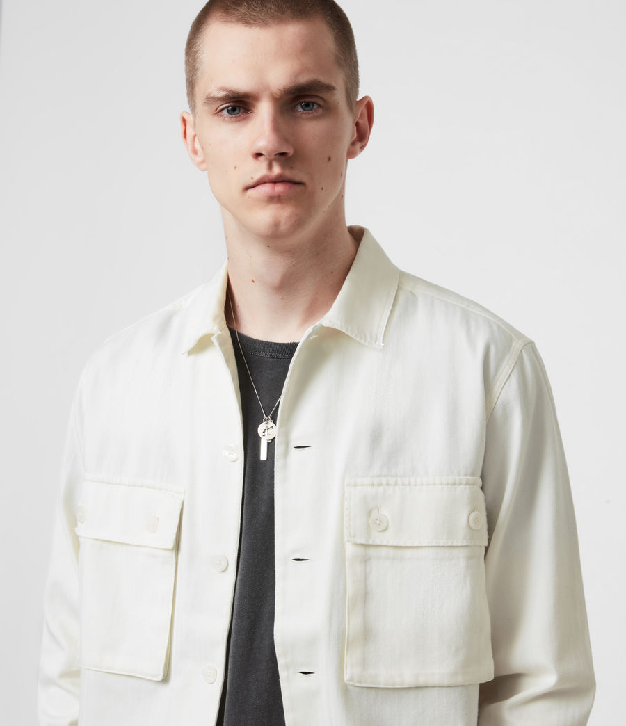 Men's Vanguard Shirt (bone_white) - Image 4