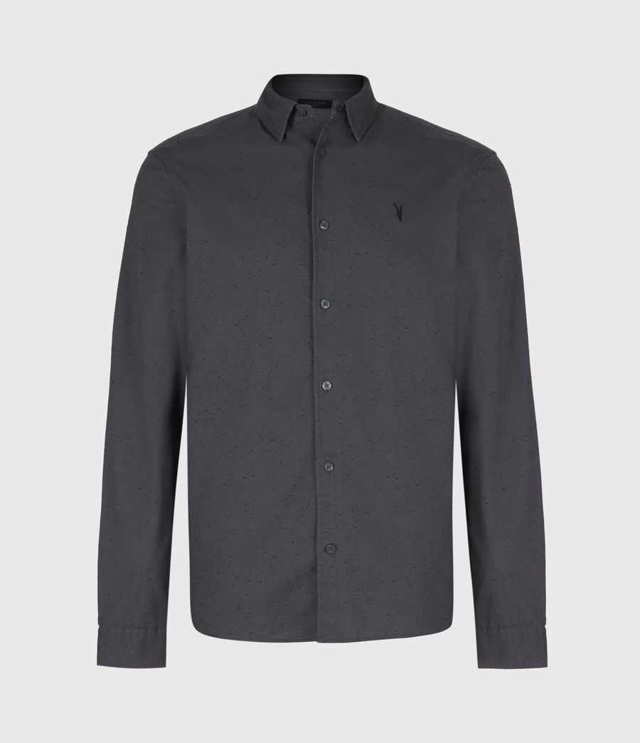 Mens Petrel Shirt (dark_grey_black) - Image 2