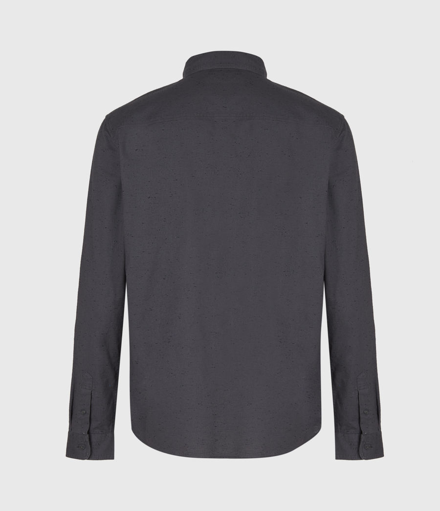 Mens Petrel Shirt (dark_grey_black) - Image 3