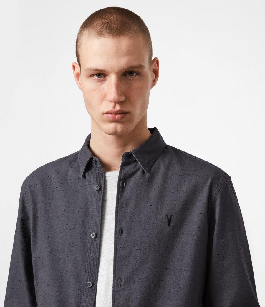 Mens Petrel Shirt (dark_grey_black) - Image 4