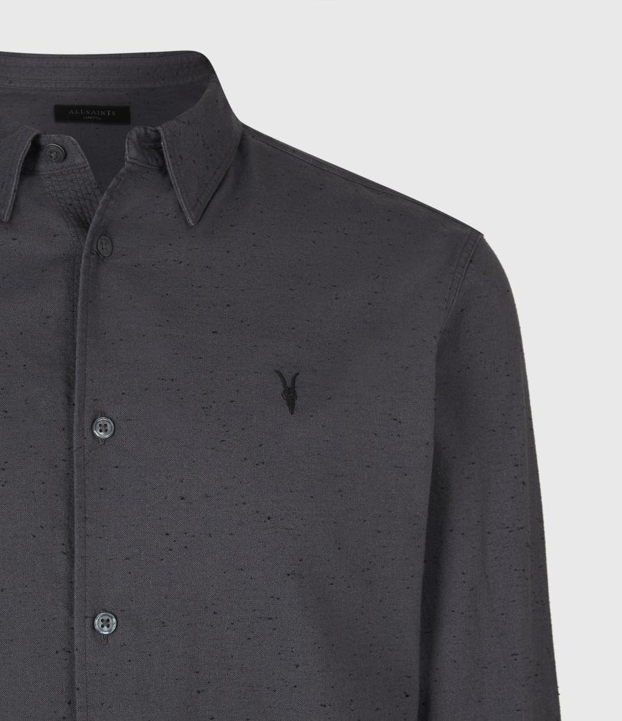 Mens Petrel Shirt (dark_grey_black) - Image 5