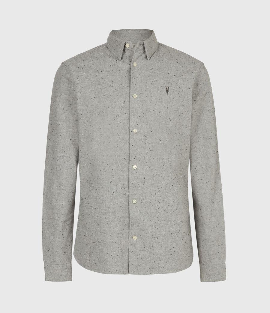 Mens Petrel Shirt (grey_marl_black) - Image 2