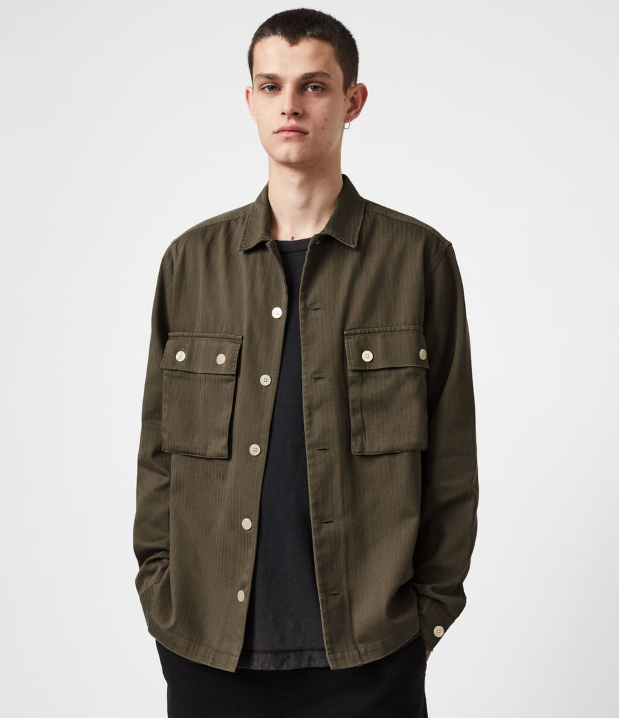 Mens Vanguard Shirt (khaki_green) - Image 1