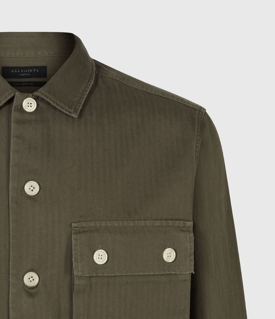Mens Vanguard Shirt (khaki_green) - Image 5