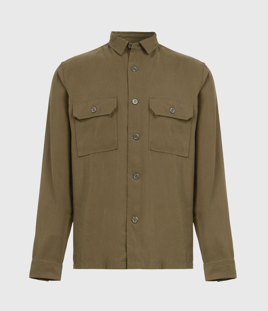 Men's Brevet Shirt (khaki_green) - Image 2
