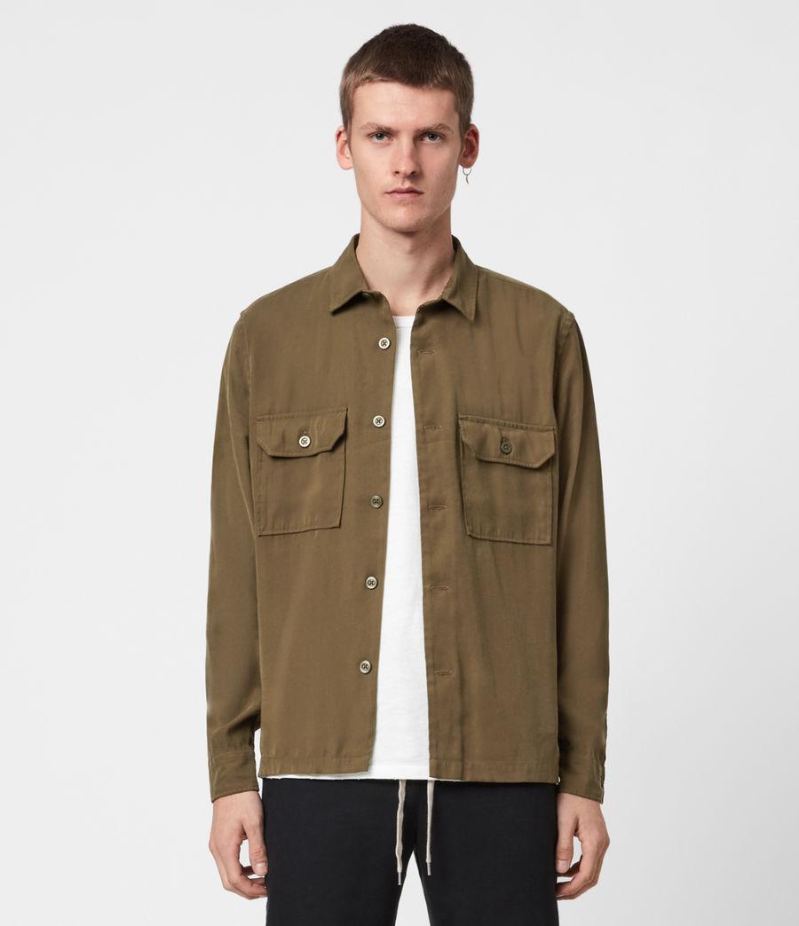 Men's Brevet Shirt (khaki_green) - Image 4