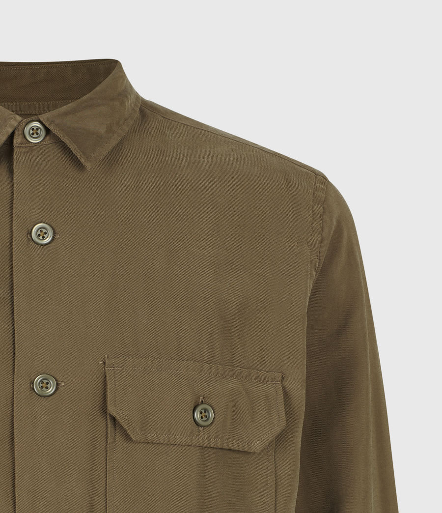 Men's Brevet Shirt (khaki_green) - Image 5