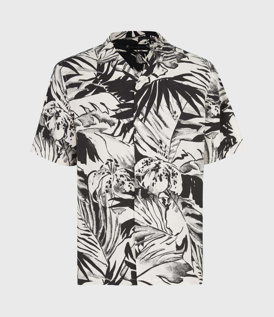 Men's Lanai Shirt (ecru_jet_black) - Image 2