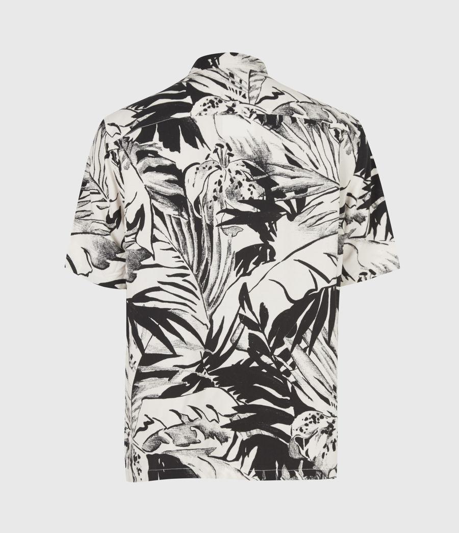 Men's Lanai Shirt (ecru_jet_black) - Image 3