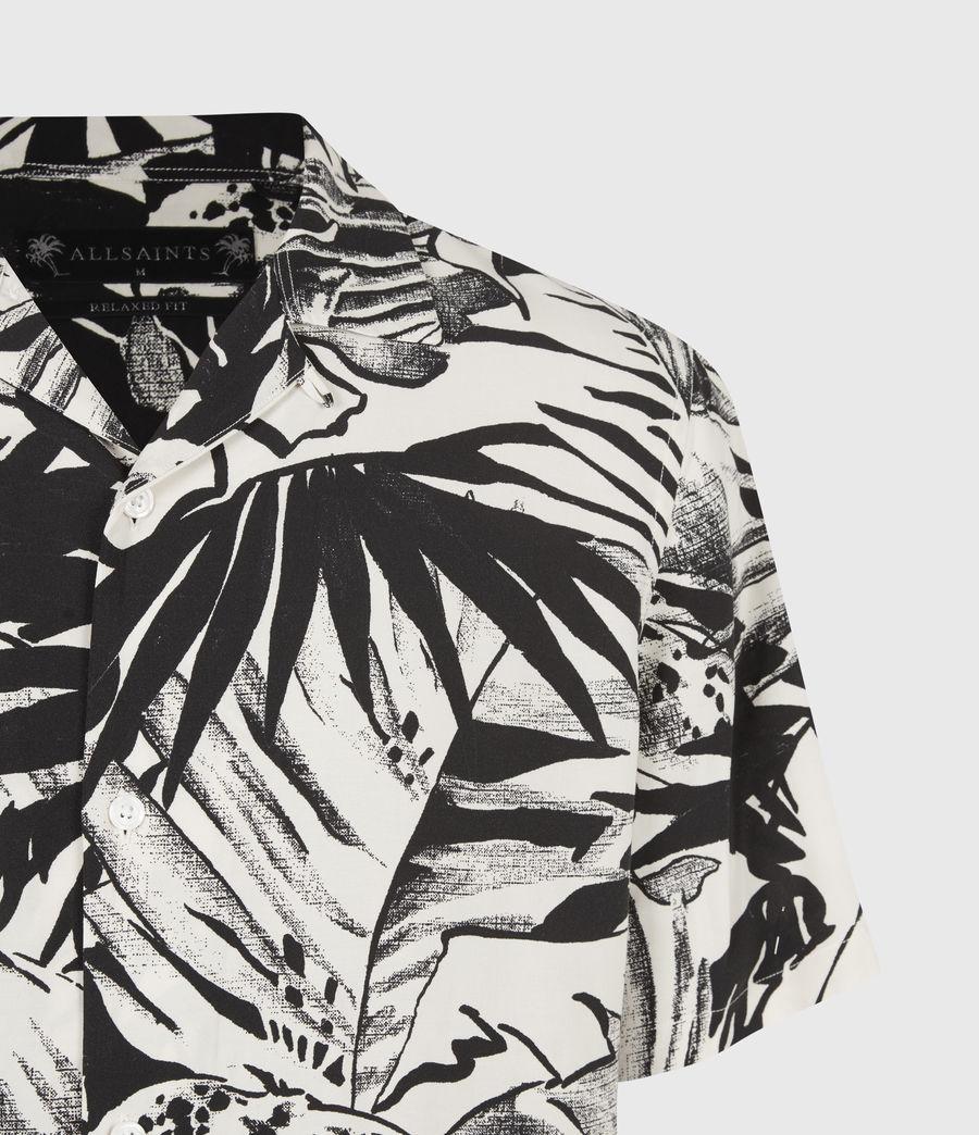 Men's Lanai Shirt (ecru_jet_black) - Image 5