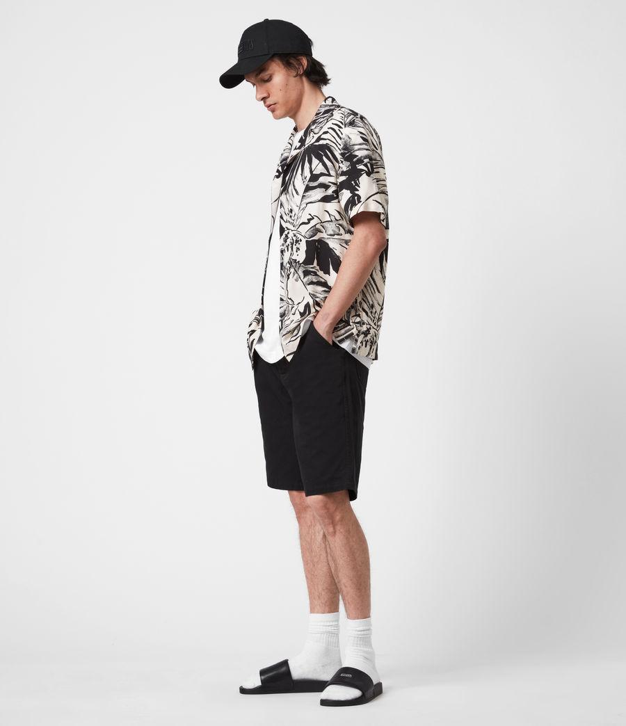 Men's Lanai Shirt (ecru_jet_black) - Image 6