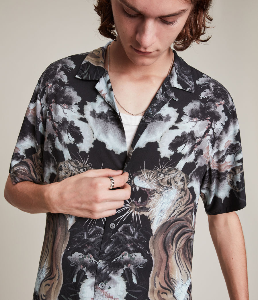 Herren Gobi Shirt (jet_black) - Image 2