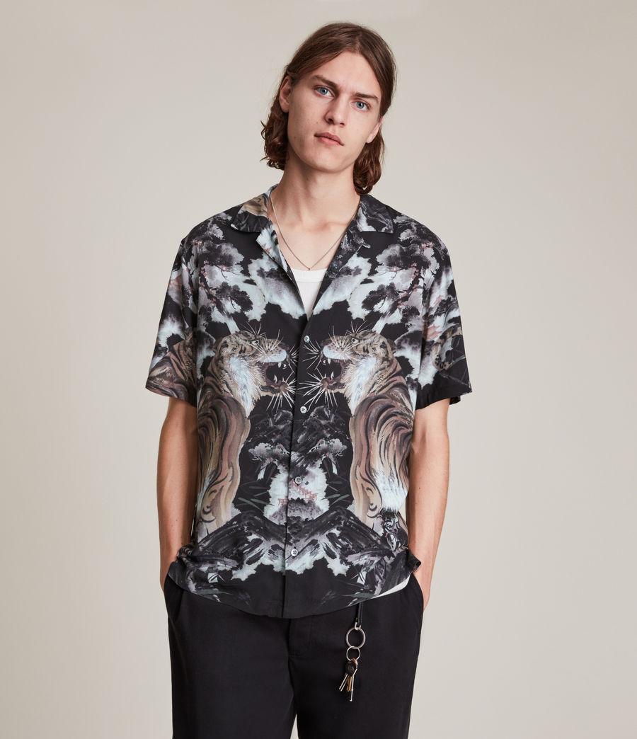 Herren Gobi Shirt (jet_black) - Image 3