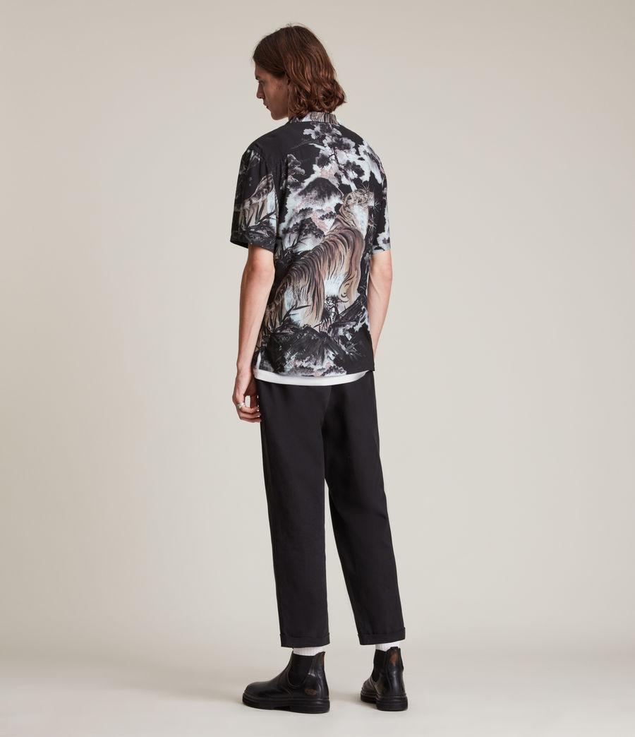 Herren Gobi Shirt (jet_black) - Image 4