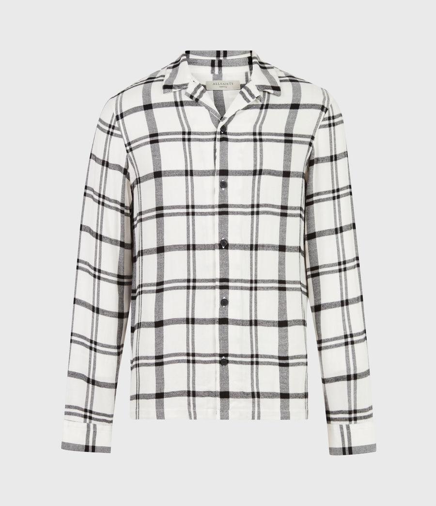Herren Arline Shirt (ecru_jet_black) - Image 2
