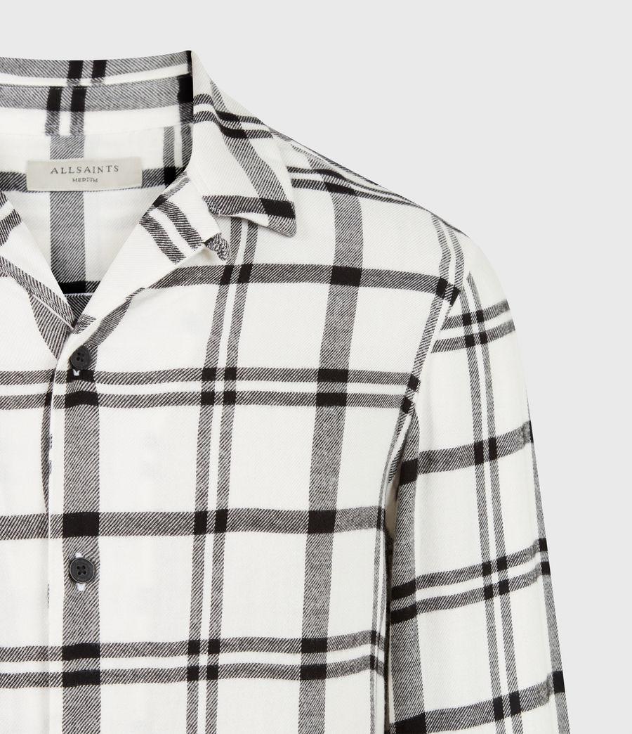 Herren Arline Shirt (ecru_jet_black) - Image 5