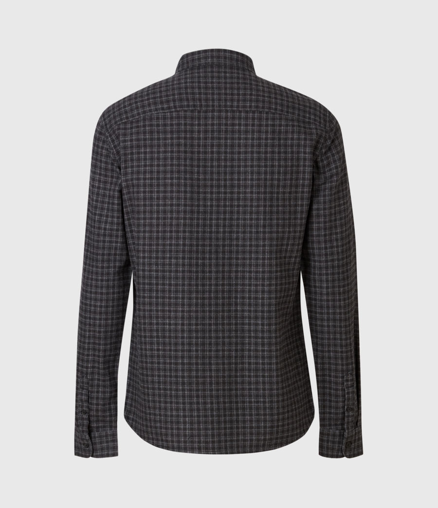 Mens Lindow Shirt (dark_grey_black) - Image 3