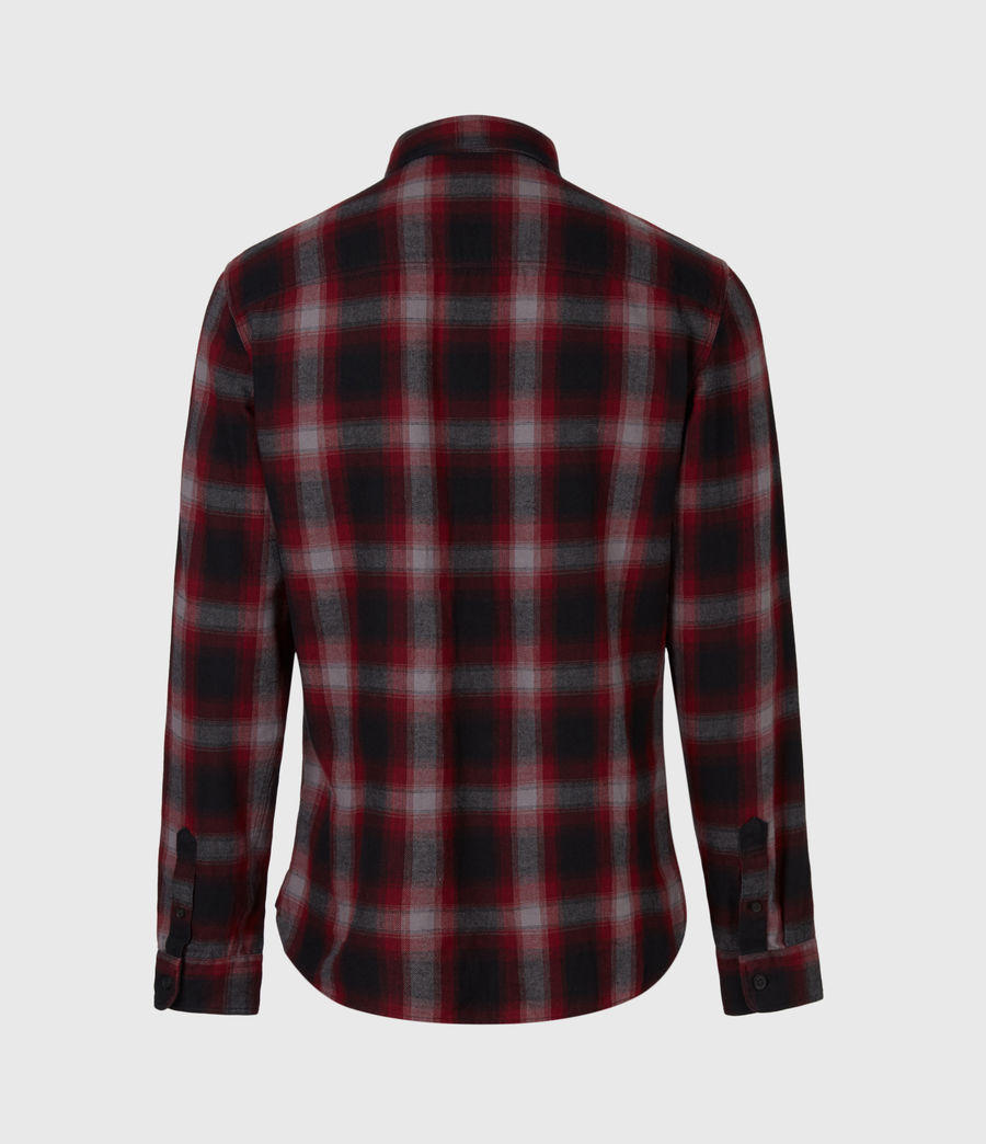 Men's Dieffen Shirt (black_red) - Image 3
