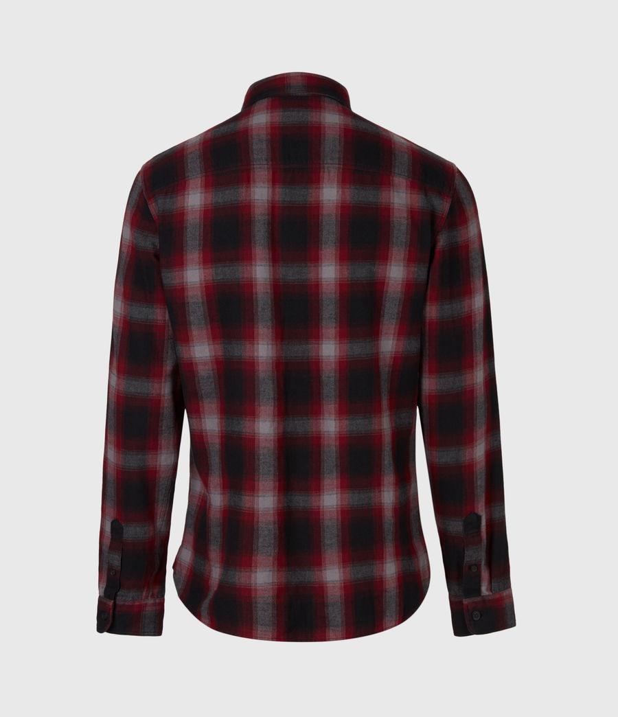 Herren Dieffen Hemd (black_red) - Image 3