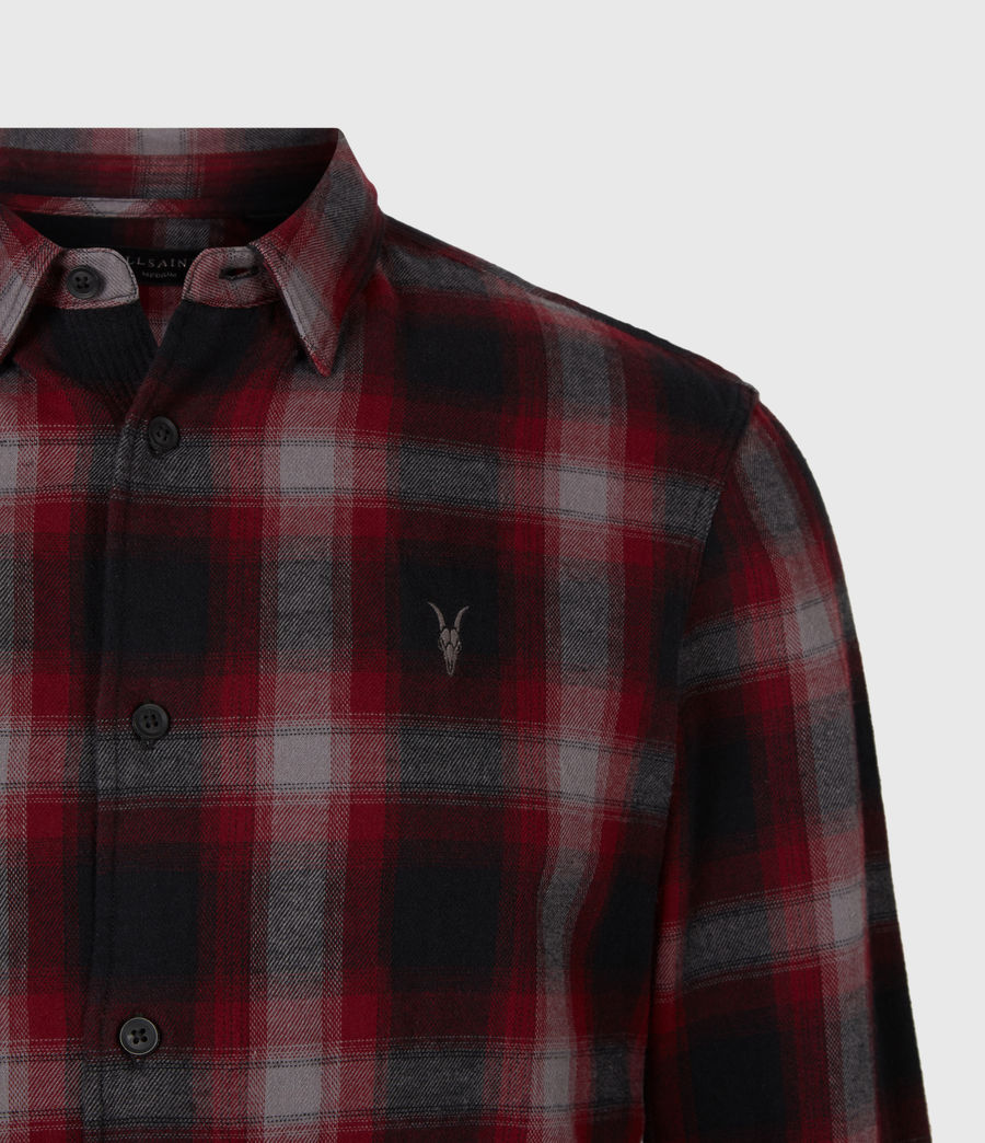 Men's Dieffen Shirt (black_red) - Image 5