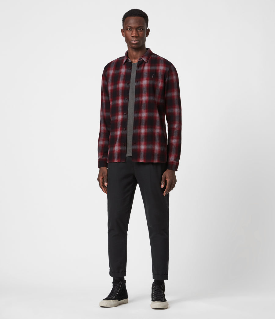 Men's Dieffen Shirt (black_red) - Image 6