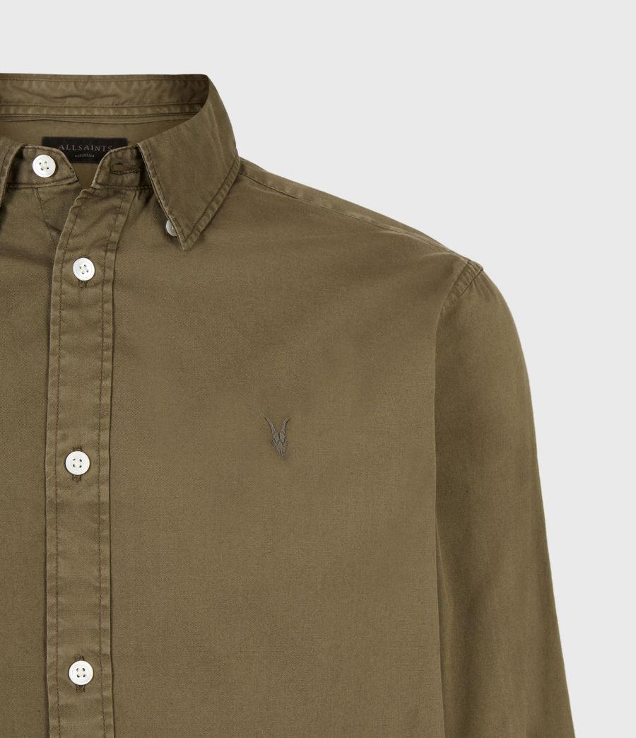 Herren Hawthorne Langarmshirt (saguaro_green) - Image 5