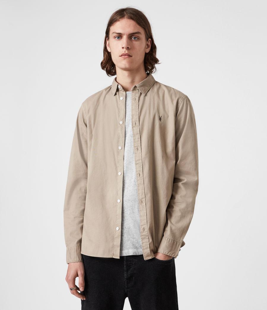 Men's Hawthorne Stretch Fit Shirt (pewter_grey) - Image 1