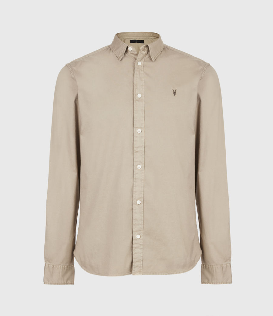 Men's Hawthorne Stretch Fit Shirt (pewter_grey) - Image 2