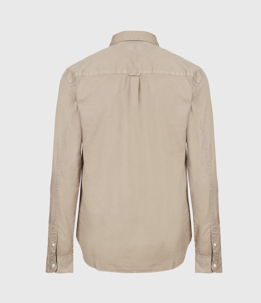 Men's Hawthorne Stretch Fit Shirt (pewter_grey) - Image 3
