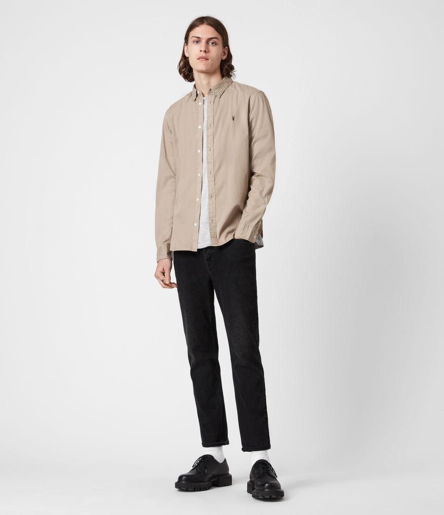 Men's Hawthorne Stretch Fit Shirt (pewter_grey) - Image 4
