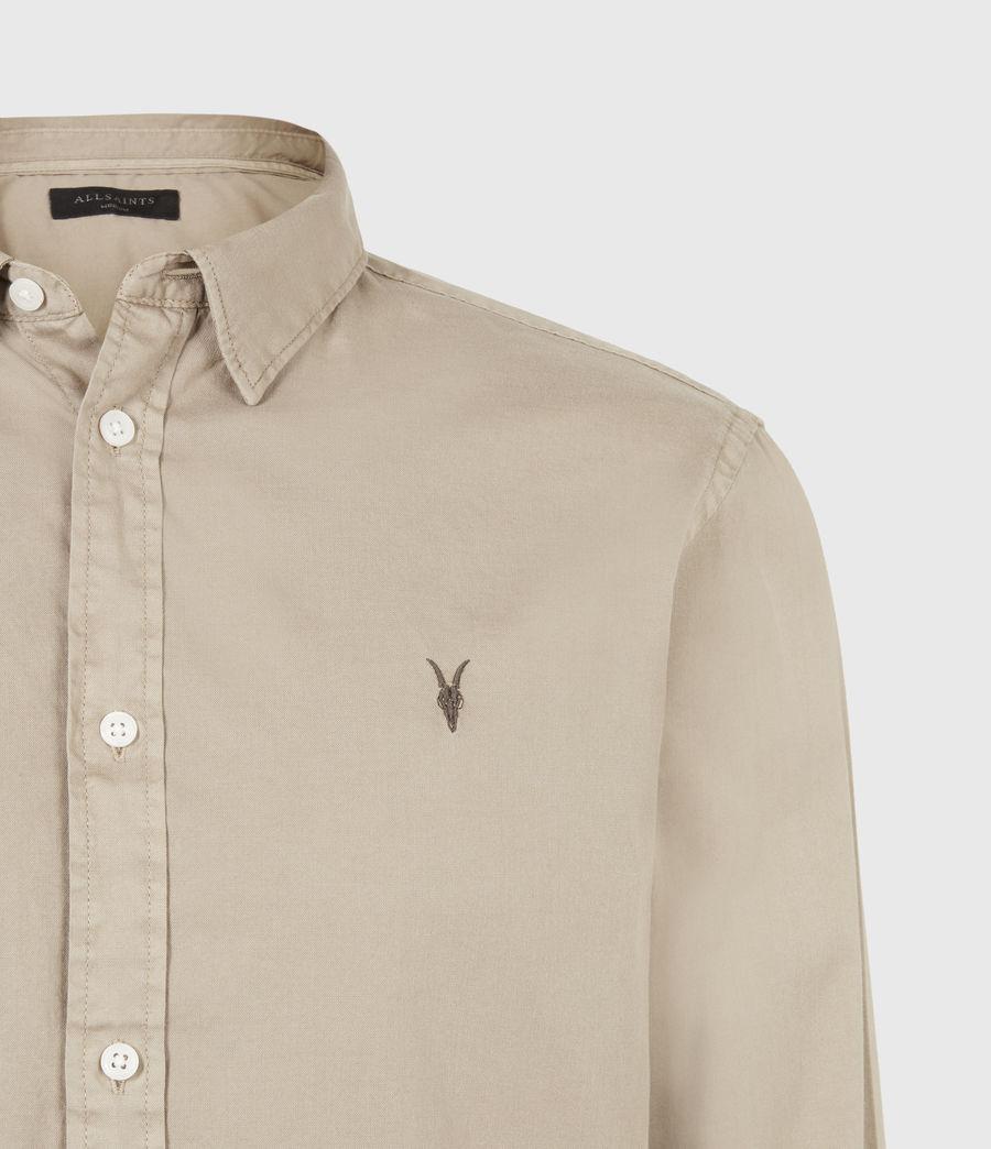 Men's Hawthorne Stretch Fit Shirt (pewter_grey) - Image 5