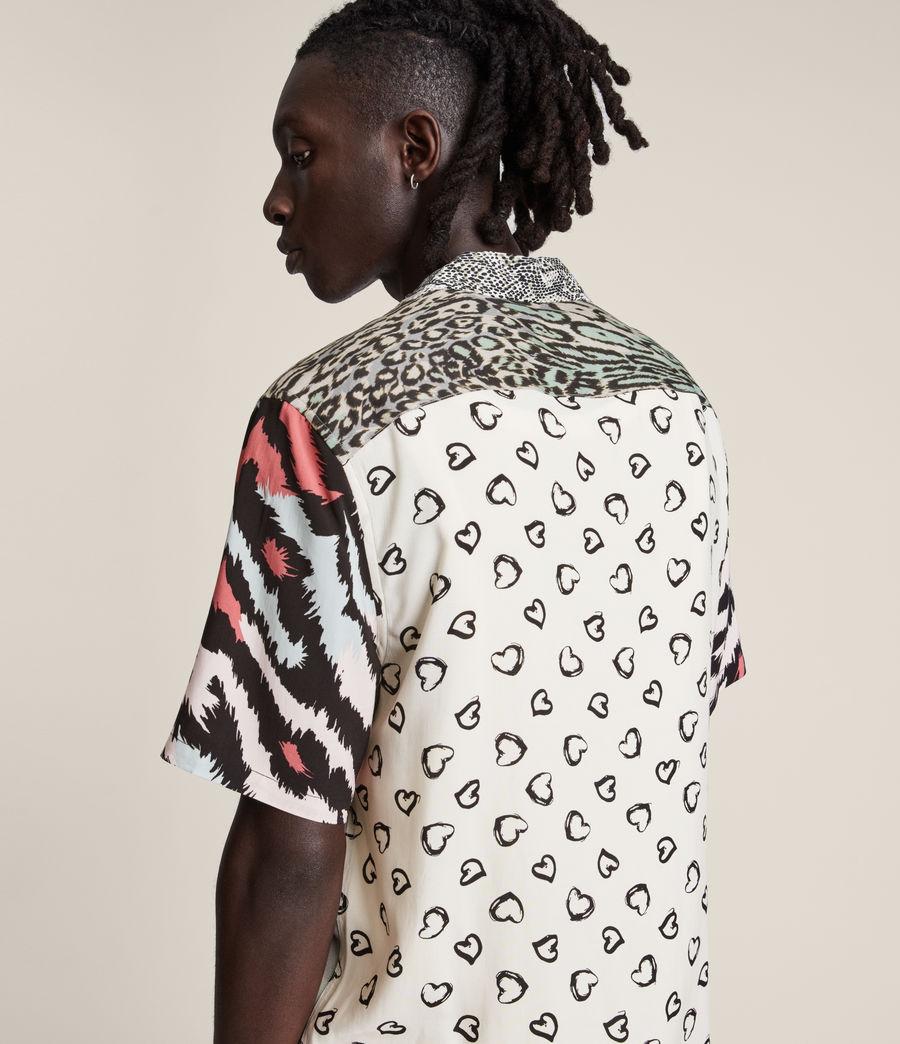 Mens Convert Shirt (black_ecru) - Image 4