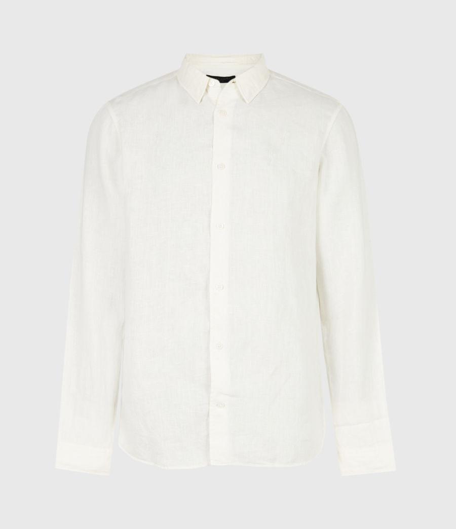 Men's Hewitt Shirt (traditional_white) - Image 2