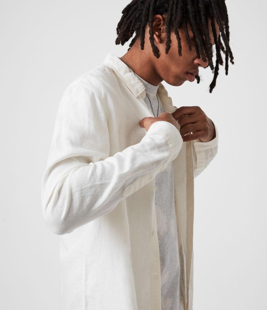 Men's Hewitt Shirt (traditional_white) - Image 4