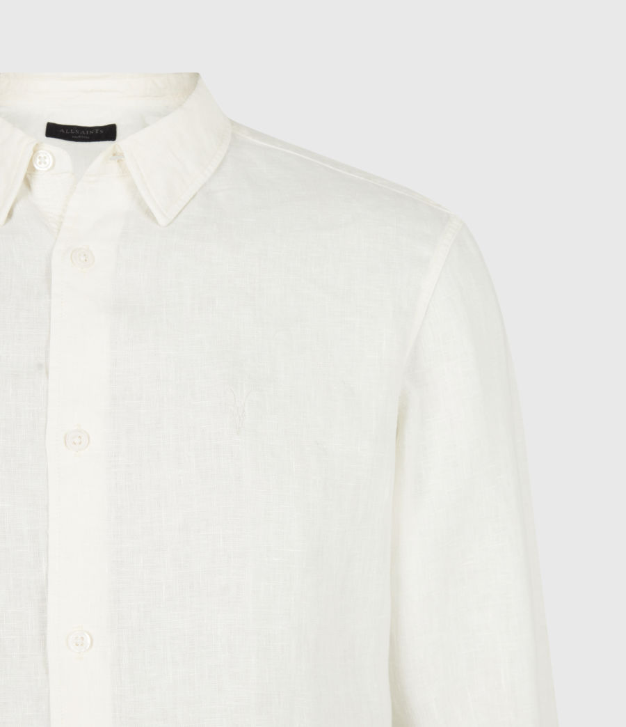 Men's Hewitt Shirt (traditional_white) - Image 5
