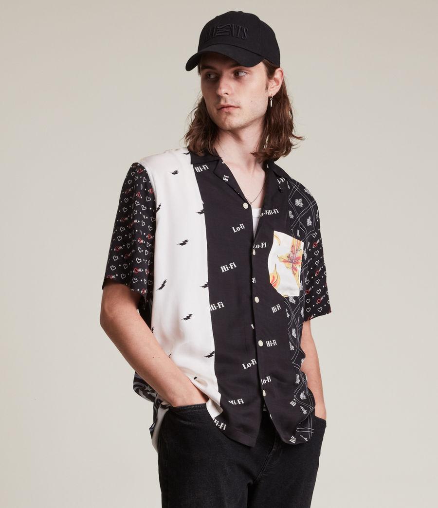 Men's Reclaim Shirt (black_ecru) - Image 3