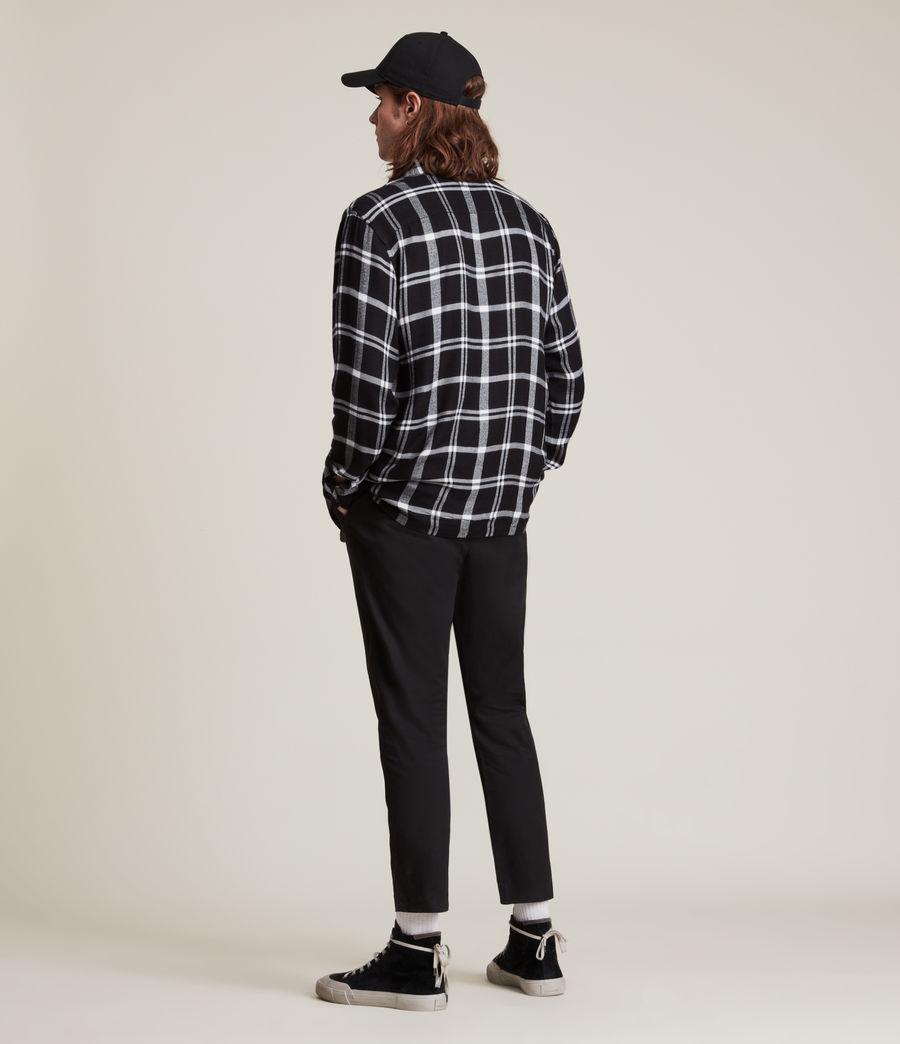 Herren Arline Shirt (jet_black_ecru) - Image 5