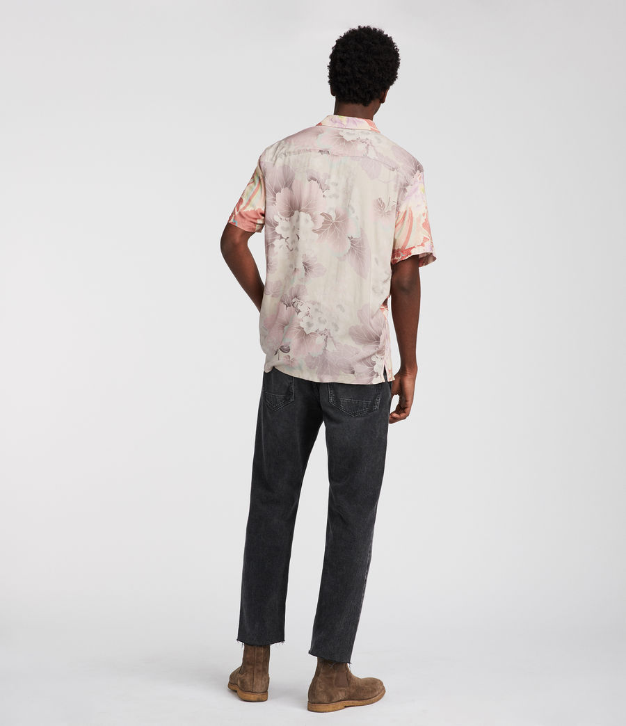 Men's Helix Hawaiian Shirt (sunset) - Image 5