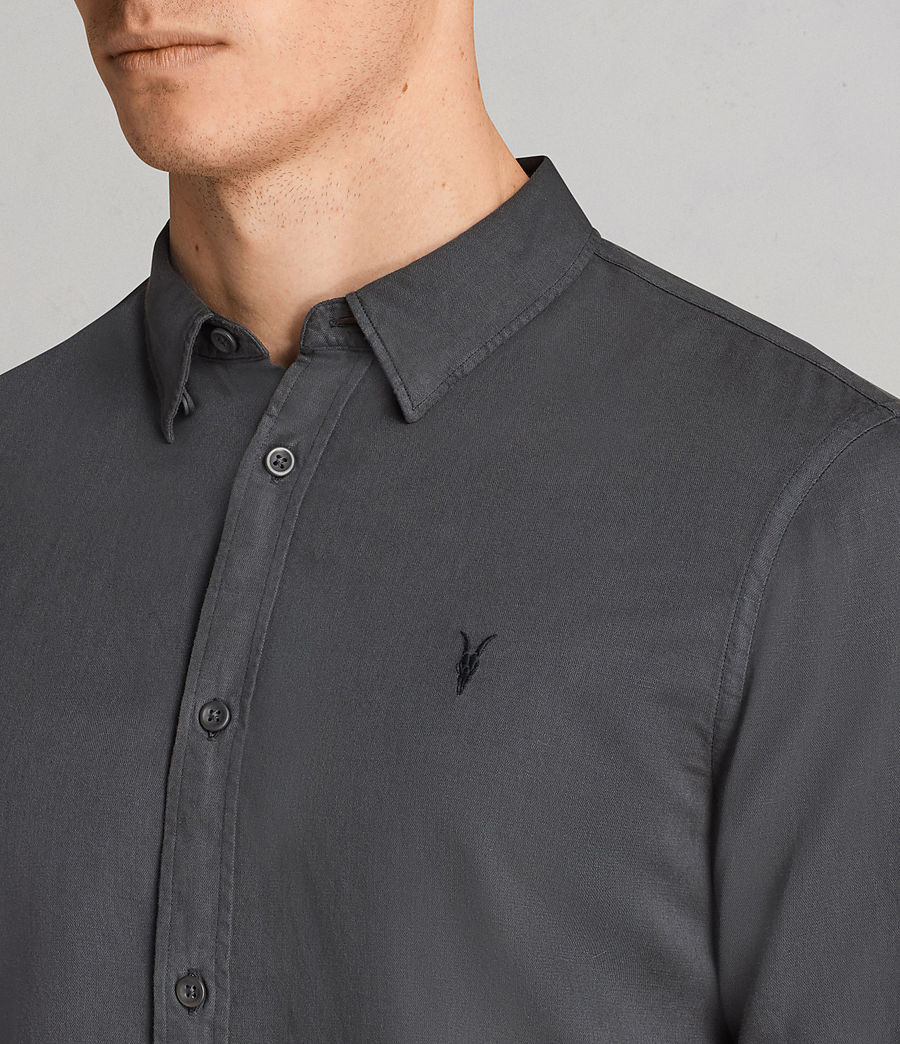 Uomo Camicia Westlake (workers_blue) - Image 2