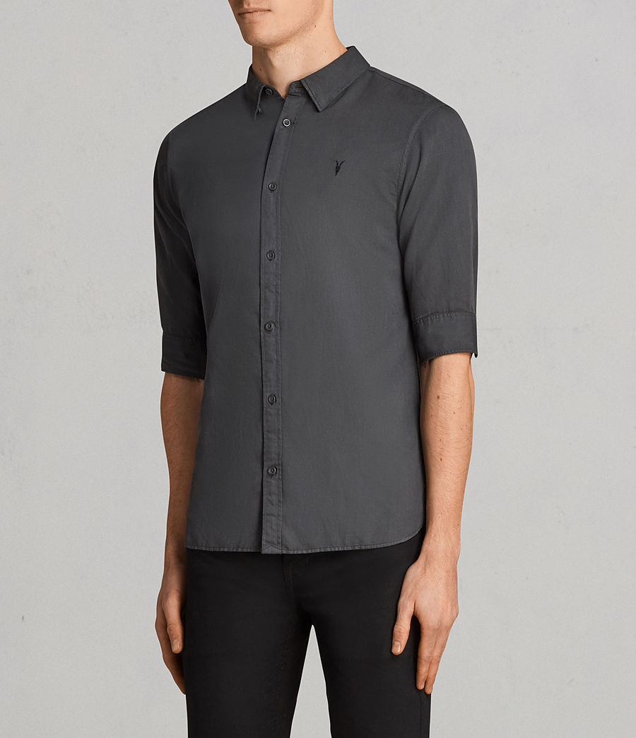 Uomo Camicia Westlake (workers_blue) - Image 3