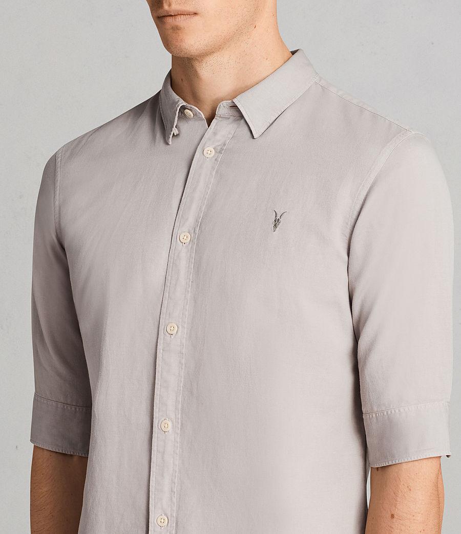 Mens Westlake Half Sleeve Shirt (pebble_grey) - Image 2